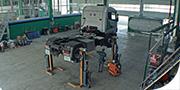 Officina meccanica per mezzi pesanti