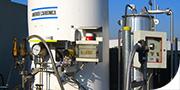 Pressurrizzazione di autocisterne con anidride carbonica per la conservazione della merce