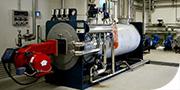 Centrale termica per riscaldamento a vapore